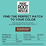 L'Oreal Paris Magic Root Rescue 10 Minute Root Hair Coloring Kit, Permanent Hair Color with Quick Precision Applicator, 100% Gray Coverage, 5 Medium Brown, 2 count