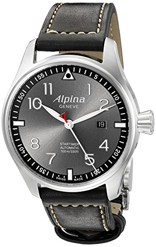 Alpina-Mens-AL-525GB4S6-Startimer-Pilot-Analog-Display-Automatic-Self-Wind-Black-Watch