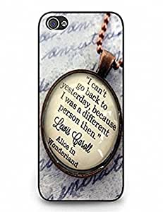 Exquisite Alice In Wonderland Customize Unique Rubber Silicone iPhone 6 5.5 by runtopwell