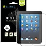 GreatShield Ultra Anti-Glare (Matte) Clear Screen Protector Film for Apple iPad 1st Gen (2 Pack)