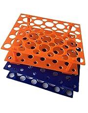 50 Well Orange/Blue Centrifuge Tube Rack voor 10ml/15ml/50ml(pak van 2)