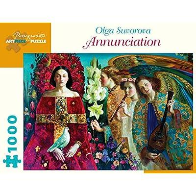 Olga Suvorova Annunciation 1000-Piece Jigsaw Puzzle: Toys & Games