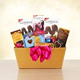 Godiva Gourmet Milk Chocolate Gift Basket