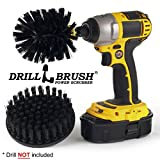 Ultra Stiff Drill powered cleaning brush kit for heavy duty use by Drillbrush