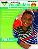 Everyday Intervention Activities for Vocabulary Grade 1, Glassman, Jackie, 160719130X