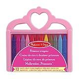 Melissa & Doug Princess Crayon Set - 12 Colors