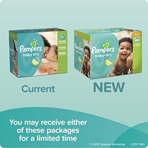 Large Product Image of Pampers Baby-Dry Disposable Diapers Size 4, 164 Count, ONE MONTH SUPPLY