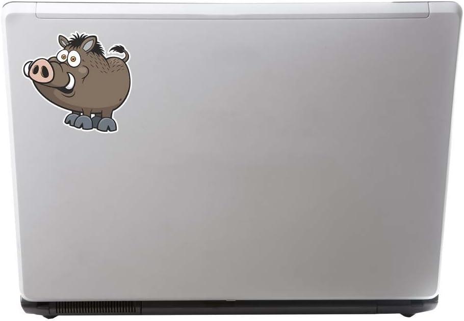 2 x 15cm//150mm Hog cinghiali Suini adesivo vinile adesivo da viaggio per portatile auto bagagli iPad segno divertimento #9248