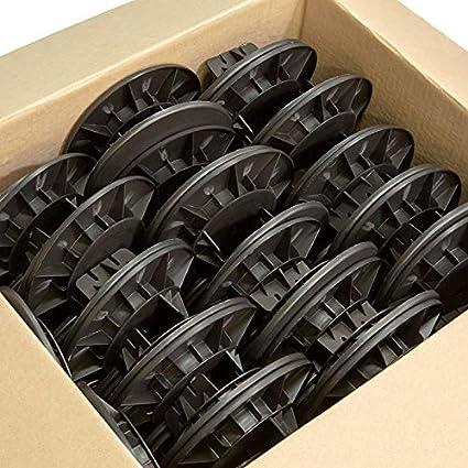Lote de 120 Plots regulables para rastrel 40/60 mm rinno Plots ...