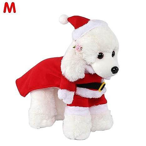 Traje de Papá Noel para Mascotas, Vestido de Mono Vestido de ...