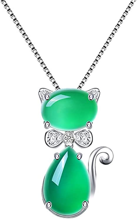 collier femme en jade