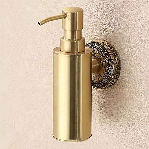 ETmla Soap Dispenser Cool/Creative Contemporary Metal 1pc Wall Mounted,Gold