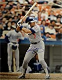 Steve Yeager Hand Signed Autographed 16x20 Photo Los Angeles Dodgers Bat In Air