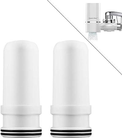 Spardar - Purificador de agua para grifo de cocina, filtro de agua ...