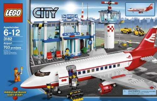 Amazon.com: LEGO City Airport 3182 (Discontinued by manufacturer ...