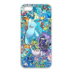 Well Design iPhone 5,5S phone case - design with Pokemon pattern
