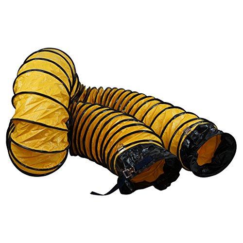 - MOUNTO 25FT PVC Flexible Duct Hosing for Exhaust Fan (12inch w/o Bag)
