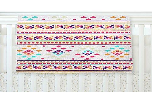 KESS InHouse Nika Martinez Aylen Tribal Fleece Baby Blanket 40 x 30 [並行輸入品]   B077ZP9WQD