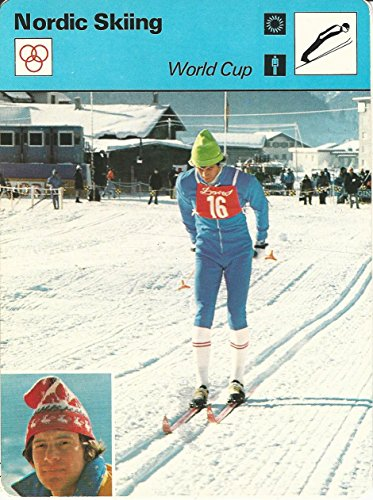 1977-79 Sportscaster Card, 17.20 Nordic Skiing, World Cup, T. Wassberg