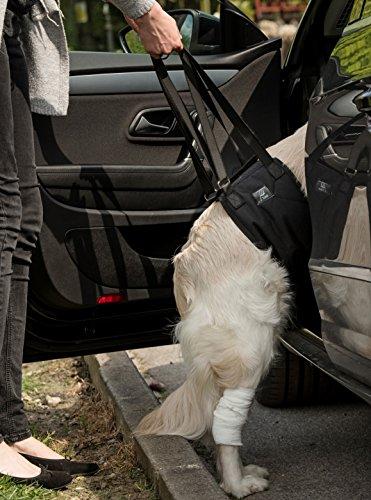toldi Dog Sling, Dog Lift Harness - Dog Leg Brace for Hind Leg - Help Em Up Harness for Dogs, Dog Sling for Large Dogs Hind Leg Support, Pet Sling for Small Dogs, Balance Harness, Dog Lift