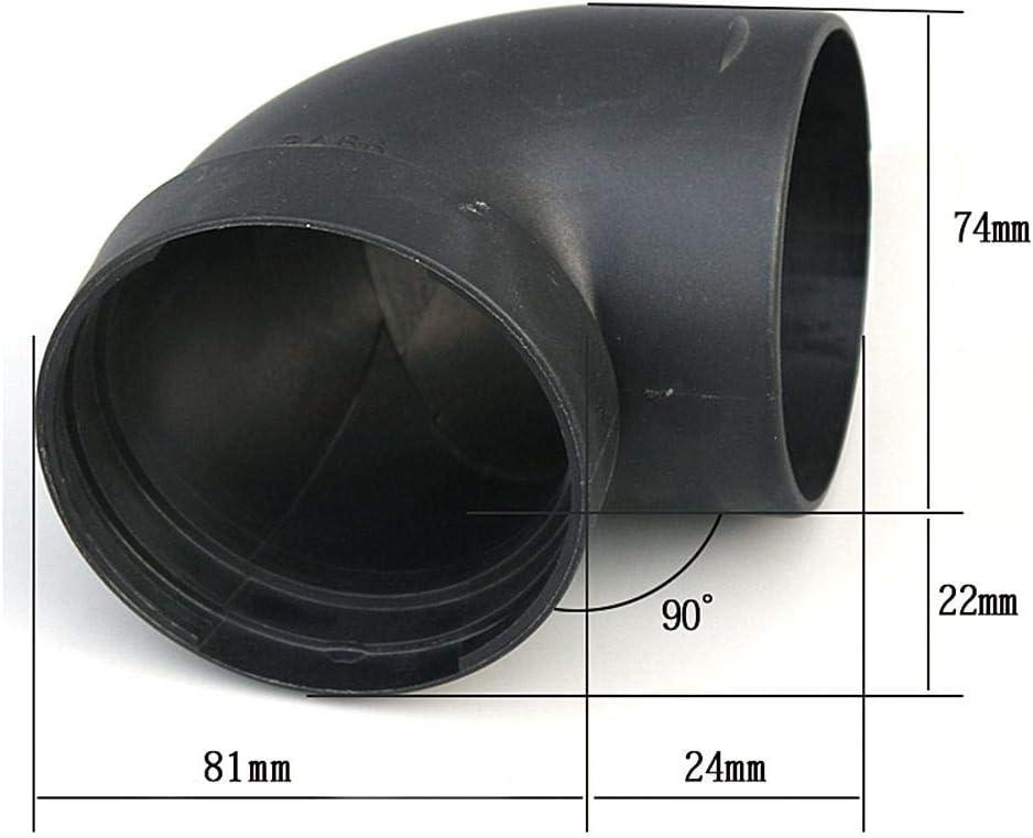 Aitoco Kunststoff Luftführungsrohrbogen Auslassverbinder Für Webasto Eberspächer Standheizung Zubehör 75mm Küche Haushalt