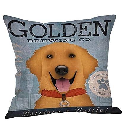 Amazon.com: DAVITU US Warehouse - Animal Print Dog Pillow ...