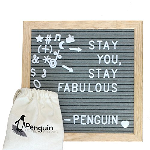 Mua Arsivcix Felt Letter Board Changeable Reversible Pregnancy Baby Announcement Marquee Sign Board With 680 Small Number Symbol Mini Emoji 10x10 Inches Text Now Your Message 10 Things I Hate About You