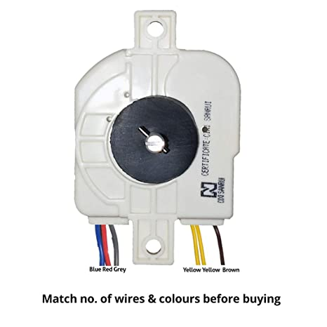 doctorspare plastic 6 wire/15 minutes washing machine timer for godrej 6201  (white): amazon in: home & kitchen