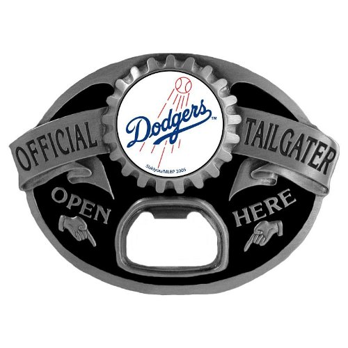 Los Angeles Dodgers MLB Bottle Opener Tailgater Belt Buckle