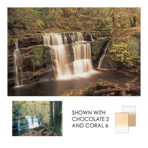 Lee Filters Coral Grad 4 Soft Graduated Coral Filter 4x6'' Resin
