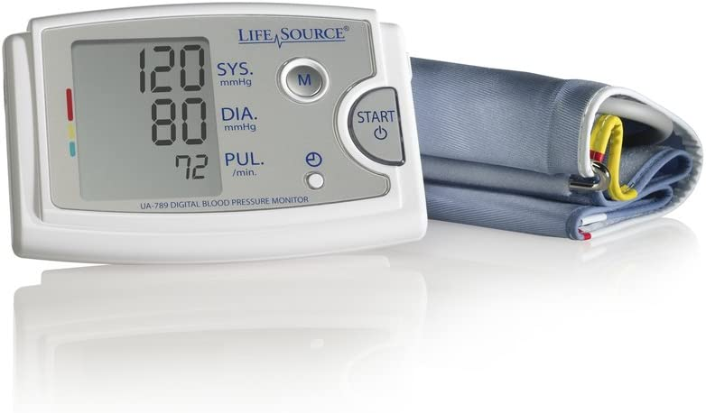 Amazon.com: LifeSource Monitor de presión arterial del brazo ...