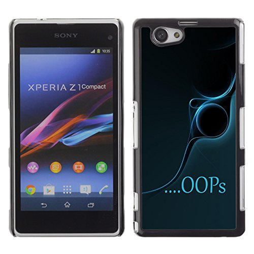 Licase Protective Case for Sony Xperia Z1 Mini M51W - Oops