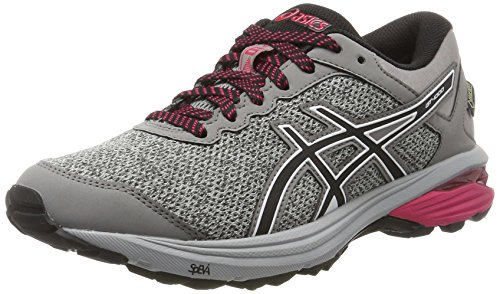 Asics Gt-1000 6 G-TX, Zapatillas de Running Para Mujer Gris (Mid Grey/black/aluminum 9690)