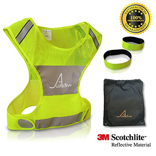 X-large Bright Reflective Safety Vests - 6