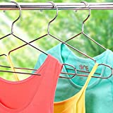 TUXWANG Stainless Steel Clothes Hangers Strong