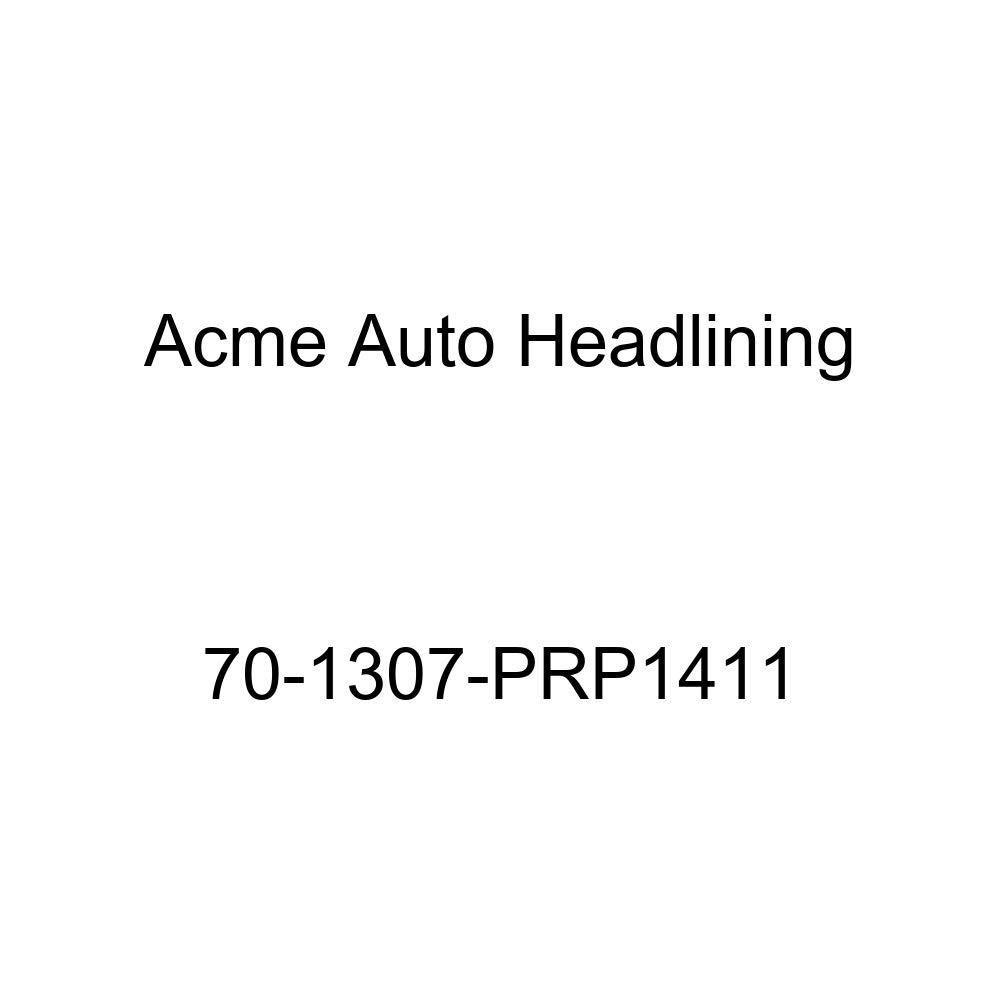 1970 Cadillac DeVille 4 Dr Sedan w//Post Acme Auto Headlining 70-1307-PRP1411 Maroon Replacement Headliner 6 Bow