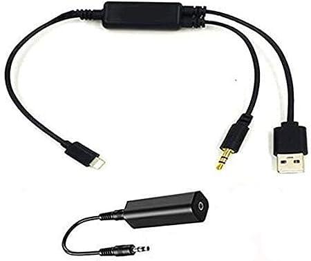 Music Interface Y Kabel Aux Ladegerät Adapter 3 5 Mm Klinke Und Usb Aux In Kabel Kompatibel Für Ipxs Xs Max Xr X 8 7 7 Plus Für Bmw 39 Zoll Navigation