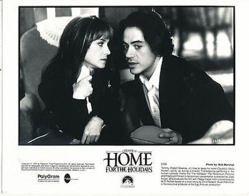 HOLLY HUNTER/ROBERT DOWNEY JR./HOME FOR THE HOLIDAYS/8X10 ORIGINAL PHOTO BB7210