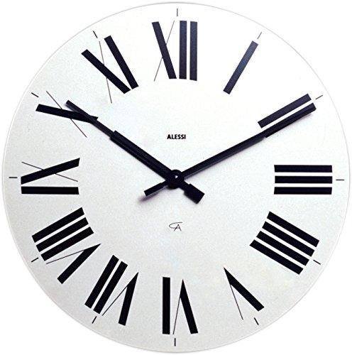 Alessi Firenze Wall Clock Aleesi 12 W, White
