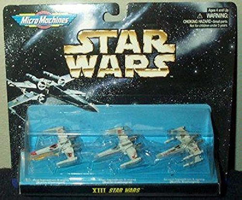 STAR WARS MICRO MACHINES SPACE VEHICLES,COLLECTION XIII Galoob Toy