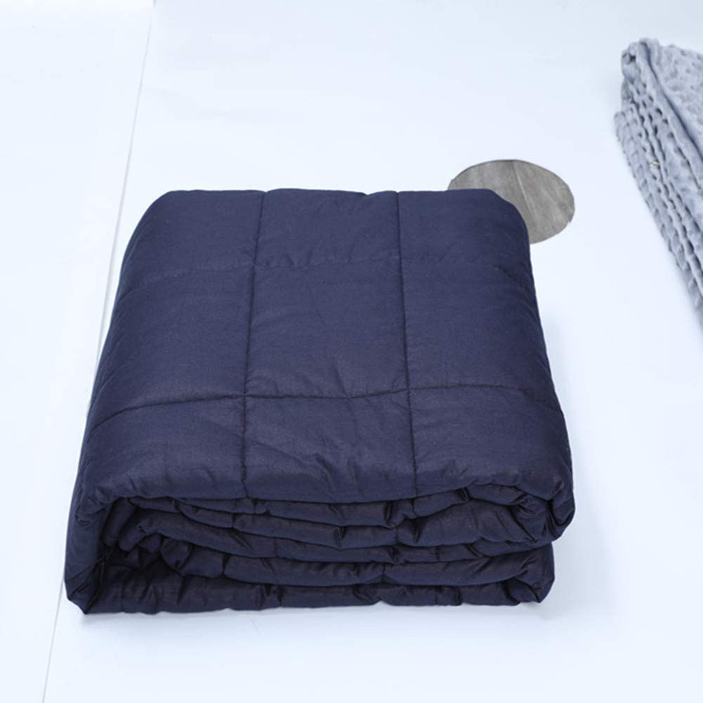 reduced anxiety soothing soothing blankets thick blankets YaoDaPang Adult//adolescent weighted blankets glass beads,40 * 60inch10ibs relaxation