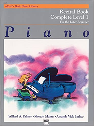 """""TXT"""" Alfred's Basic Piano Library Recital Book Complete, Bk 1: For The Later Beginner. Pijama Imagenes Sport color todas hotels Document"