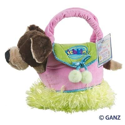 Webkinz Mocha Pup & Carrier 2Pc Asst: Toys & Games