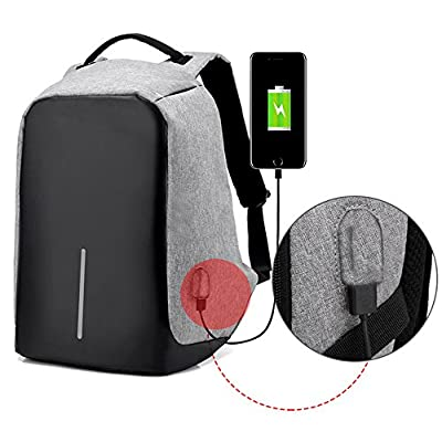 d90bf0263e3f delicate ZJY Travel Backpack, Anti-theft Laptop Backpack with USB ...