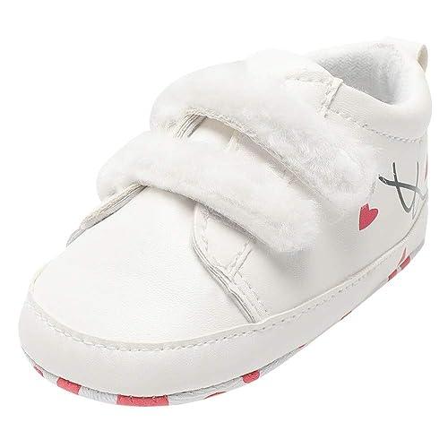Zapatos de Bebe,❤ Amlaiworld Zapatos de Suela Suave Impresos ...