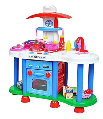 JUEGO DE COCINA · PARA NIÑOS · el niño con facilidad desarrollará habilidades manuales e interpersonales · desde 3 años de edad · imitación del sonido de ...