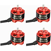 BangBang 4 X Racerstar Racing Edition 1104 BR1104 6500KV 1-2S Brushless Motor for 100 120 150 RC Multirotor