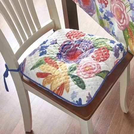 The Pioneer Woman Celia Reversible Quilted Chair pad (4 Pack)