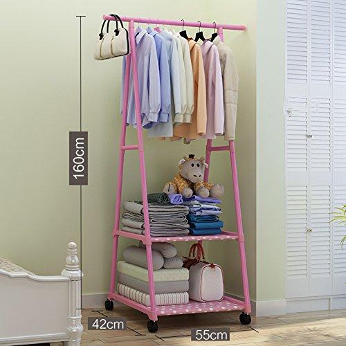lililili Clothing garment rack coat organizer storage shelvi