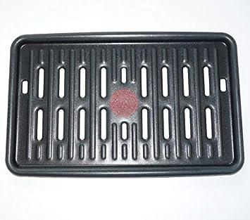 Tefal – Placa grill para barbacoa/Grills de mesa/planchas Tefal
